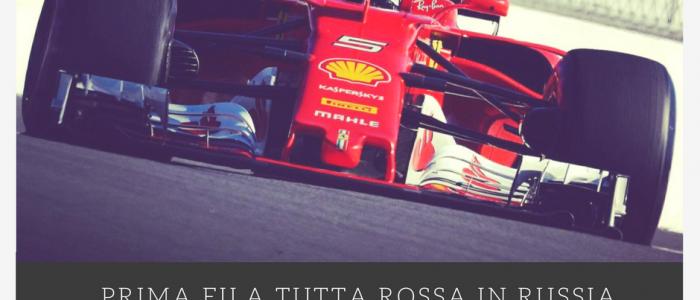 FormulaUno: prima fila tutta Ferrari a Sochi!