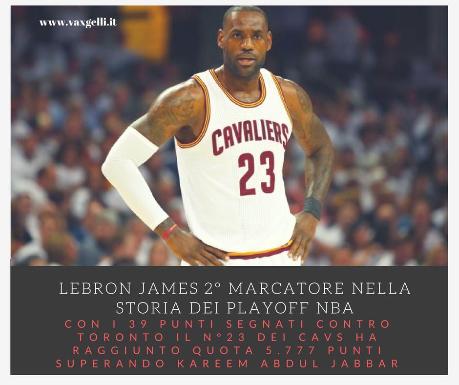 #NBA: LeBron James sempre più dominante!