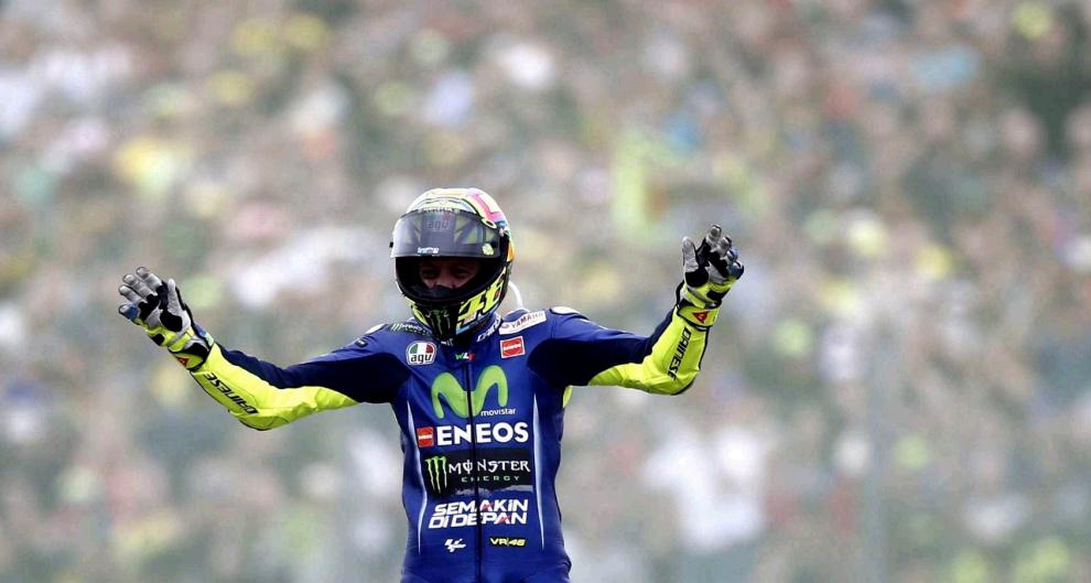 Valentino Rossi ha trionfato ad Assen