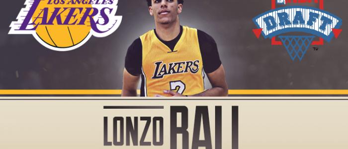 Lonzo Ball è un nuovo giocatore dei Los Angeles Lakers