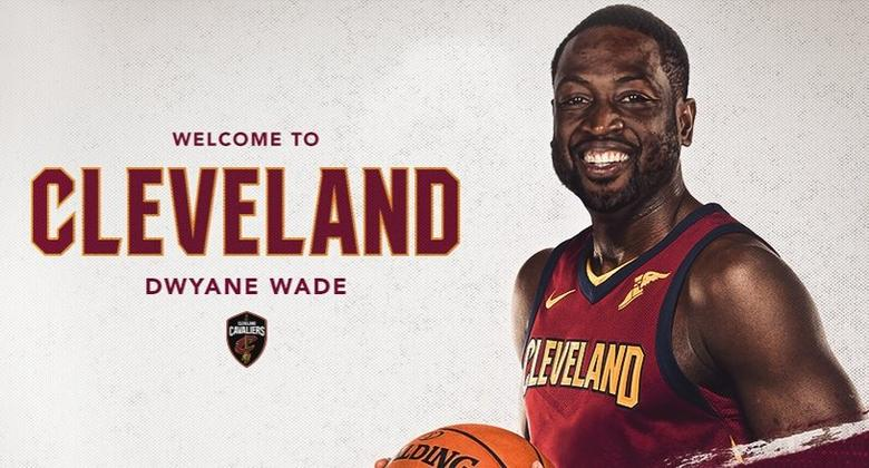 Dwyane Wade raggiunge LeBron James ai Cleveland Cavaliers