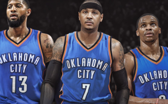 Carmelo Anthony è un nuovo giocatore degli Oklahoma City Thunder