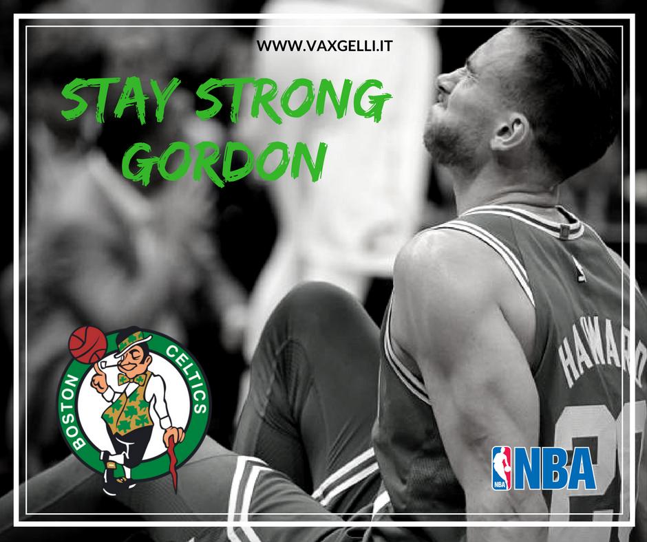 Stay Strong Gordon Hayward