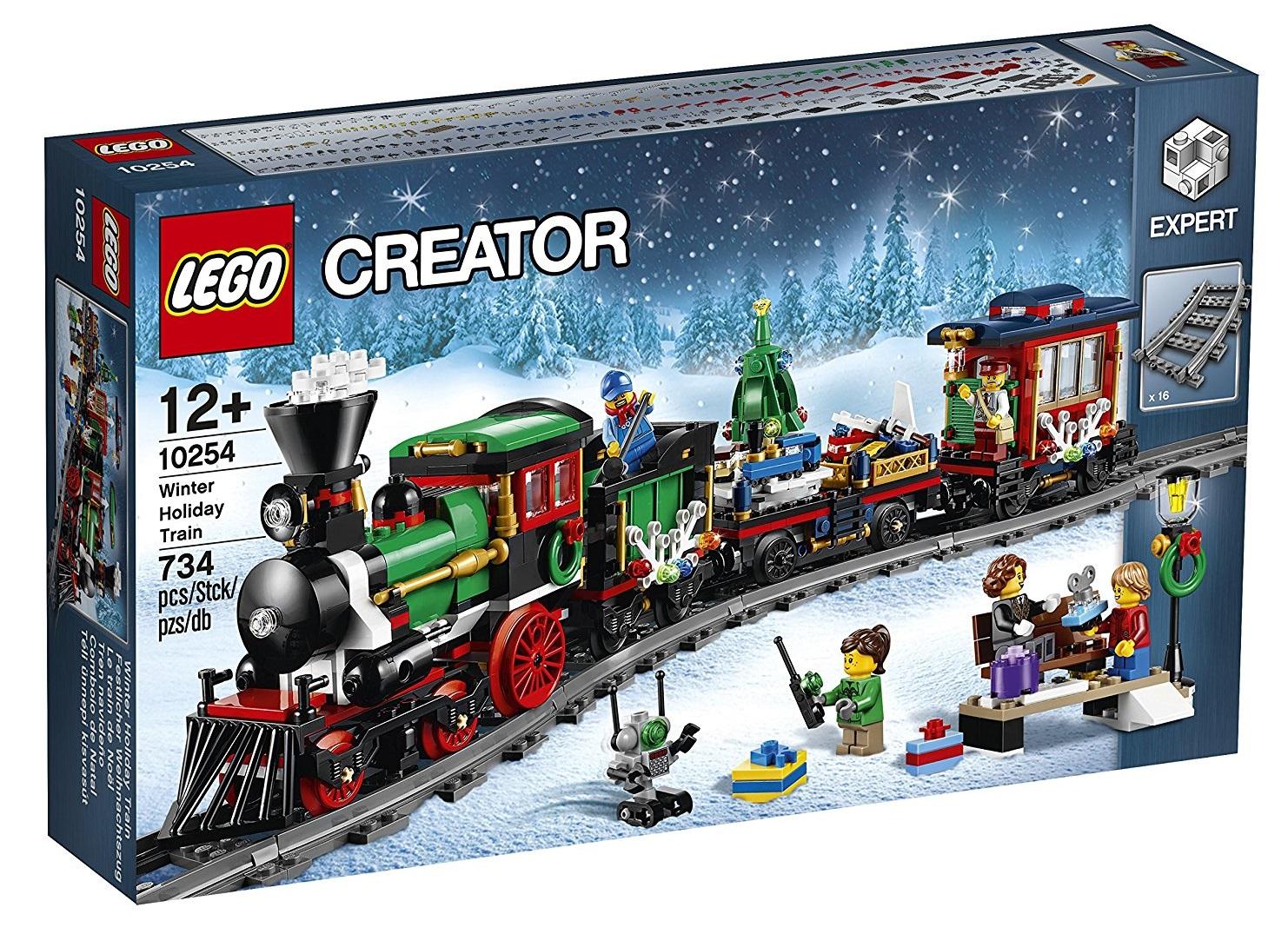 Lego Creator 10254, Treno di Natale