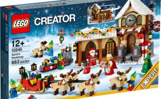 Lego Creator10245, La Bottega di Babbo Natale