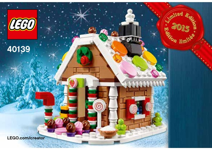 Lego 40139, la Christmas Gingerbread House