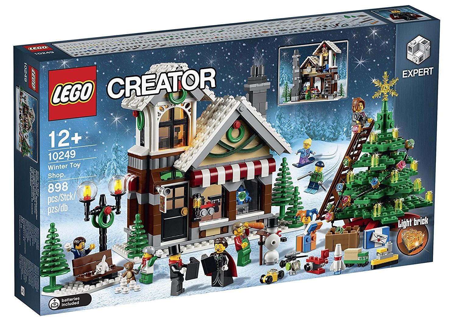 Lego Creator 10249, Negozio di Giocattoli Invernale