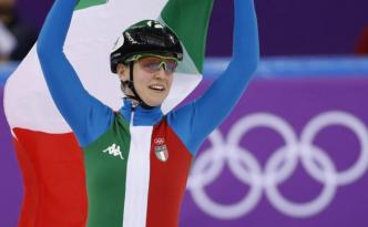 Arianna Fontana è medaglia d'oro nello short track 500 metri