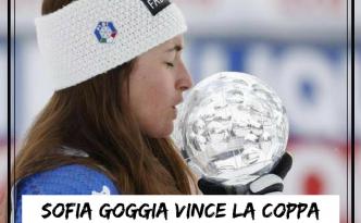 Sofia Goggia vince la Coppa del Mondo di discesa libera