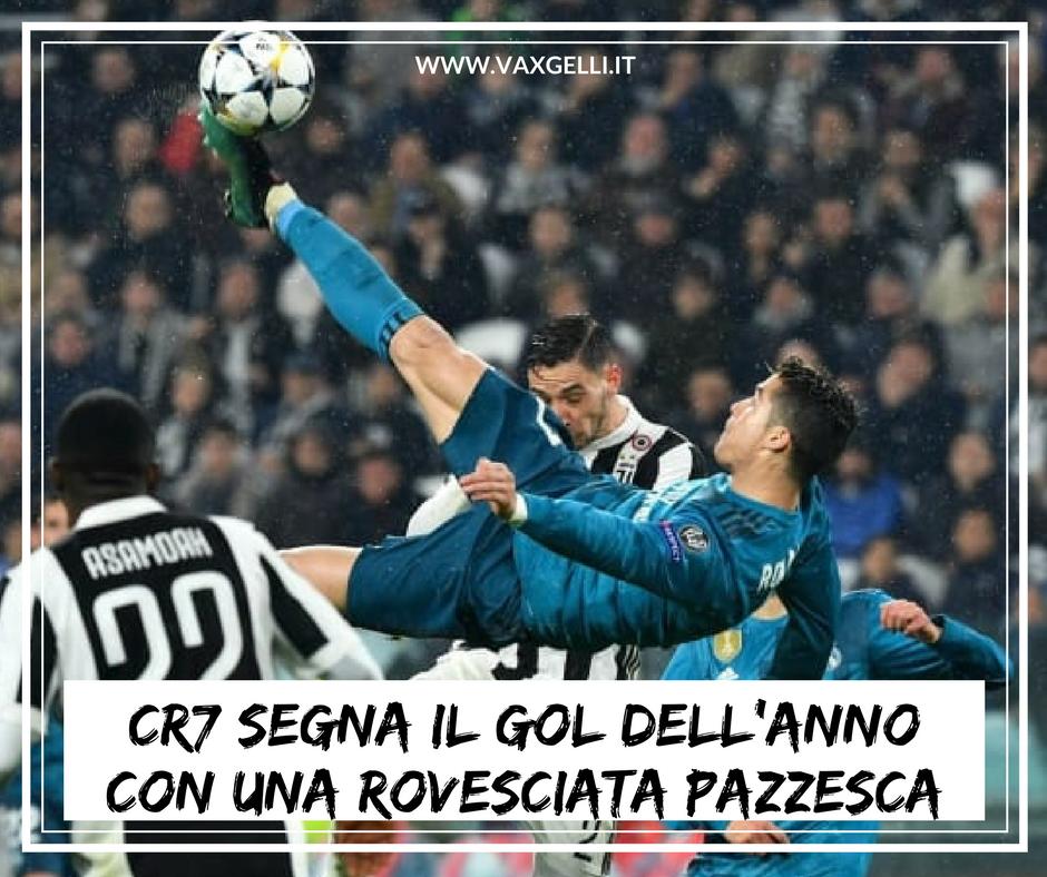 La rovesciata di Cristiano Ronaldo