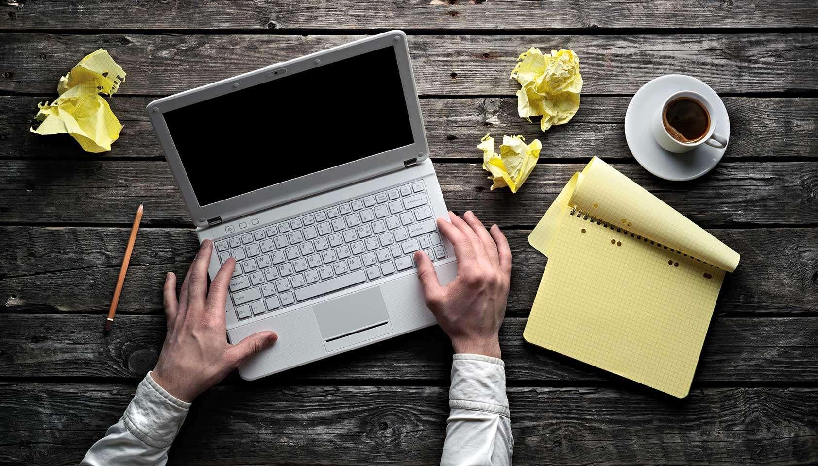 scrivere un post efficace: impostare una struttura di testo chiara e piacevole.
