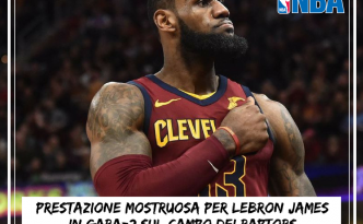Playoff NBA: LeBron James sempre più impressionante