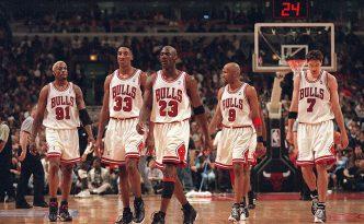 I Chicago Bulls degli anni '90