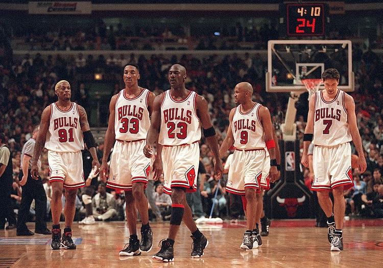I Chicago Bulls degli anni '90 protagonisti di The Last Dance