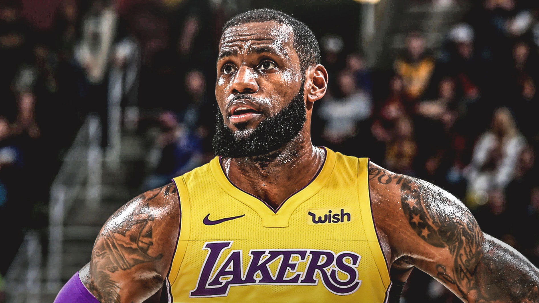 LeBron James è un giocatore dei Los Angeles Lakers