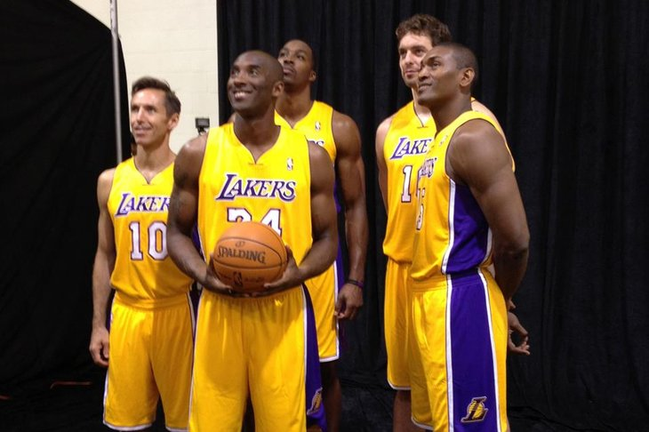 Lo starting five dei nuovi Lakers