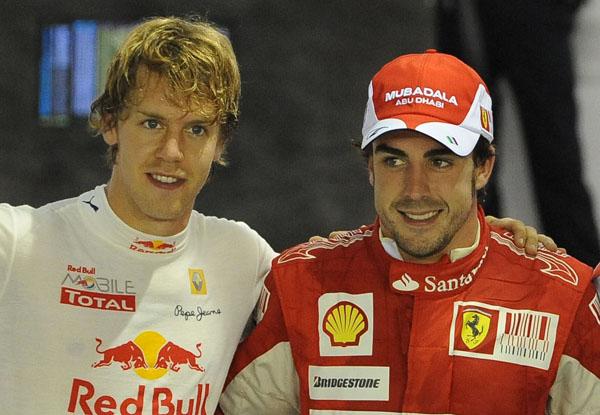 Alonso contro Vettel per il Mondiale