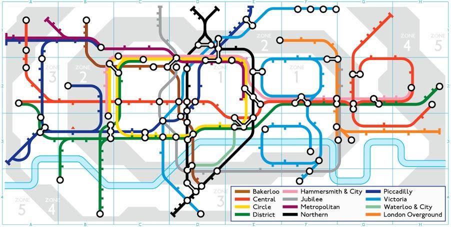 150 della Metropolitana di Londra con un Doodle