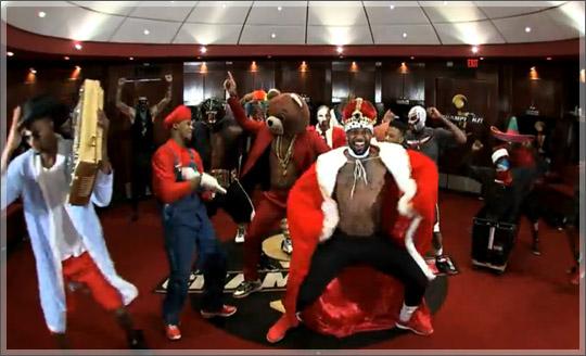 L'Harlem Shake dei Miami Heat