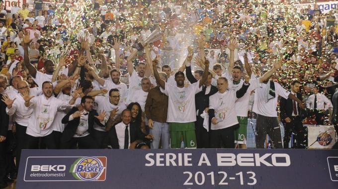Siena Campione d'Italia 2013 Basket italiano