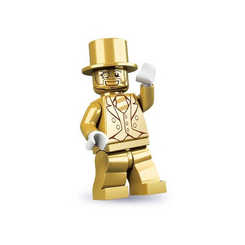Mr Gold - Lego Minifigures