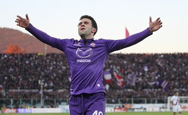 """Giuseppe """"Pepito"""" Rossi ha segnato il gol del 3-0"""
