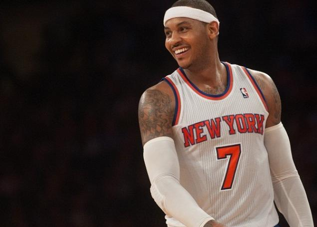 Carmelo Anthony, leader dei Knicks