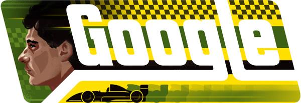 Google: un Doodle per Ayrton Senna