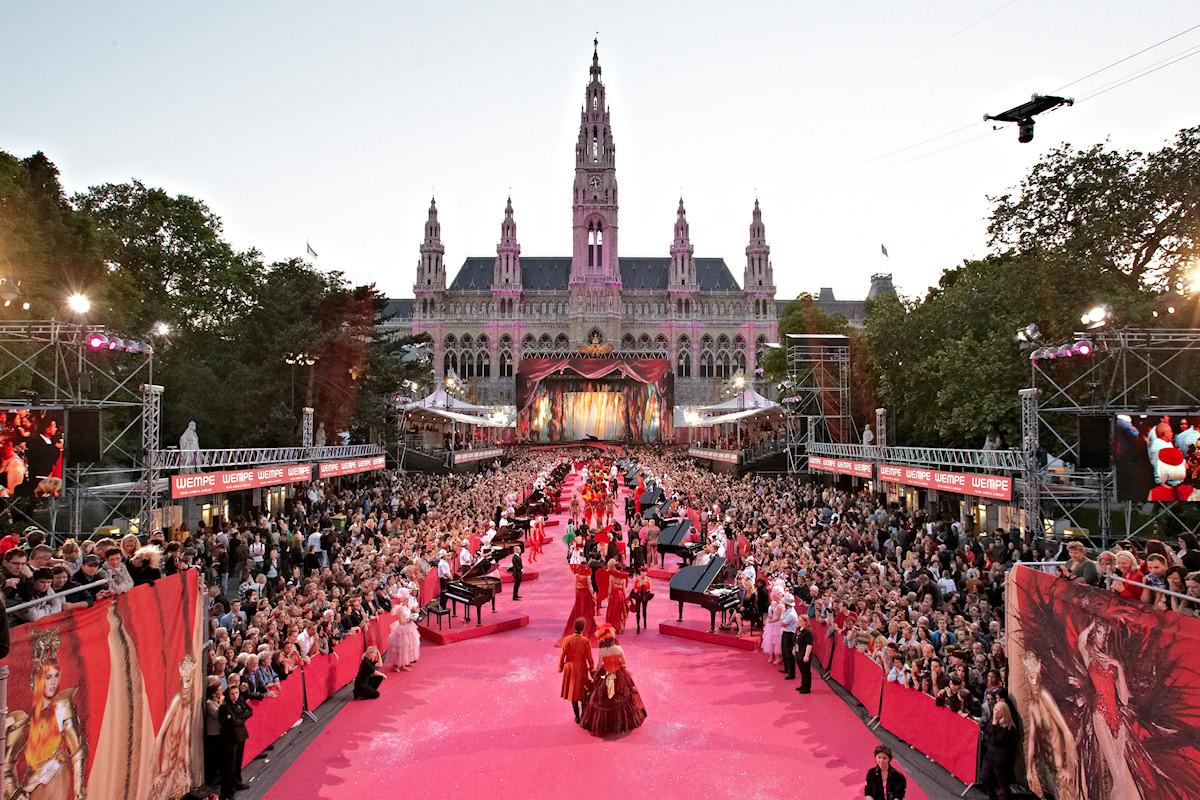 Vienna - Un momento del Life Ball Festival 2012