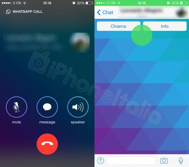 WhatsApp Call: in arrivo le chiamate vocali....