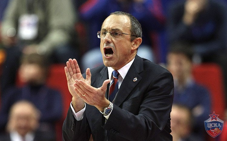 Coach Ettore Messina