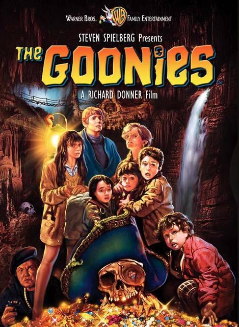 I Goonies: la copertina del Film