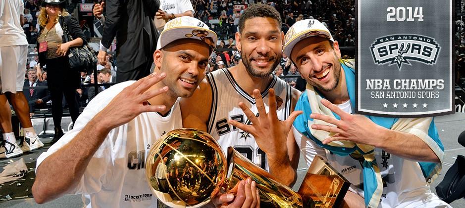 I San Antonio Spurs sono i Campioni NBA 2014