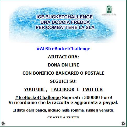 Donazioni AISLA: superati i 300.000€