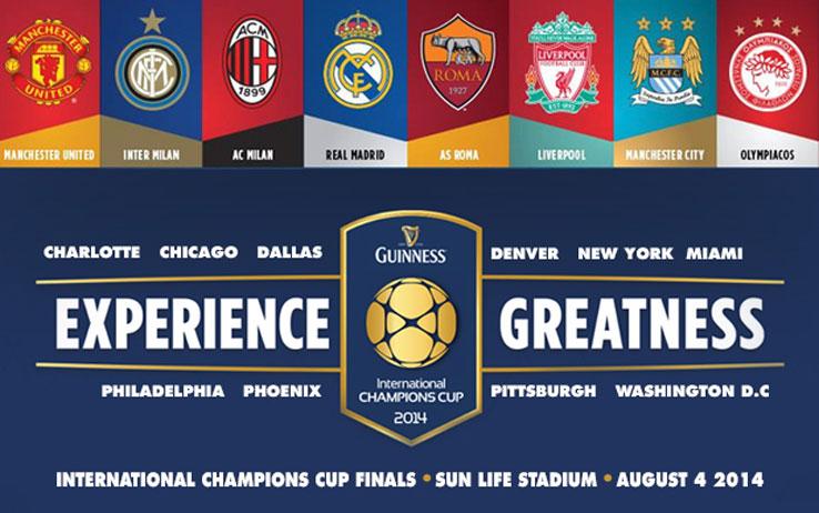La Guinness Cup 2014 e lo scarso Appeal del Calcio italiano