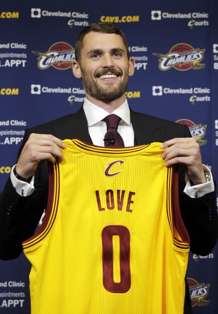 Kevin Love ai Cavs indosserà la maglia numero zero
