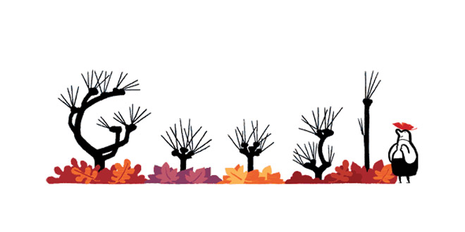 Google Doodle Autunno