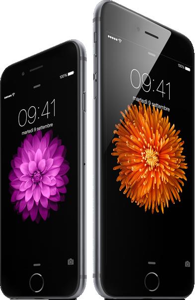 iPhone6 ed iPhone6 Plus