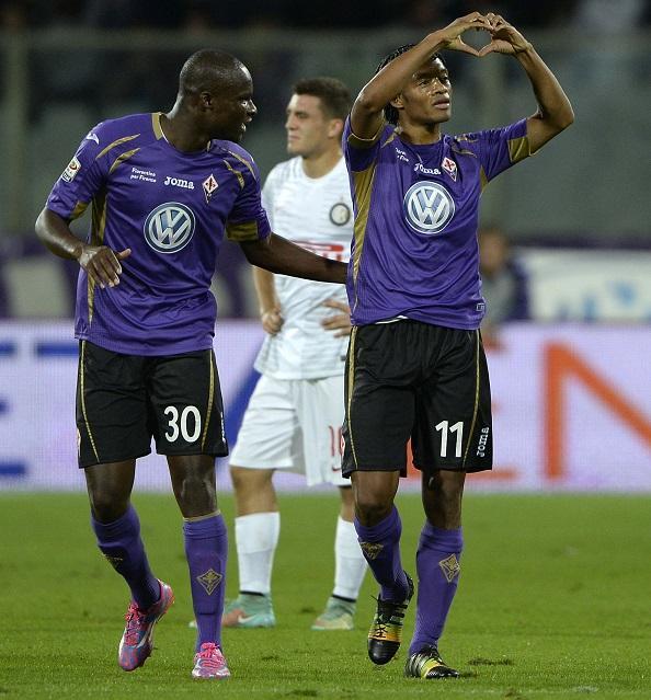 La Fiorentina di Babacar e Cuadrado spazza via l'Inter per 3-0