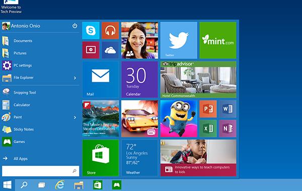 Microsoft presenta il nuovo Windows 10
