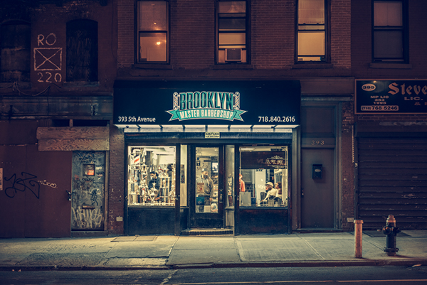 Brooklyn Master Barbershop, 2014 - ©Franck Bohbot