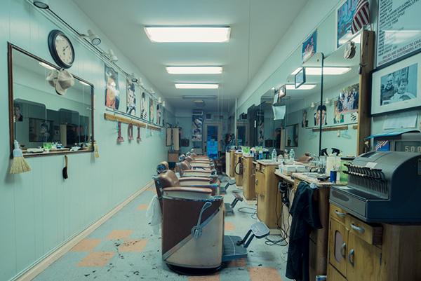 Leon's Fantasy Cut, Flatbush, Brooklyn, 2014 - ©Franck Bohbot