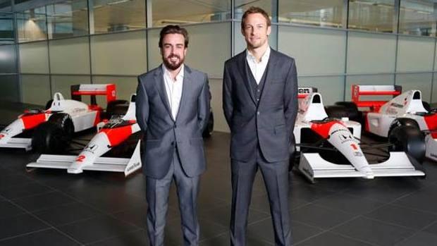 Alonso e Button sono i piloti ufficiali della McLaren Honda 2015