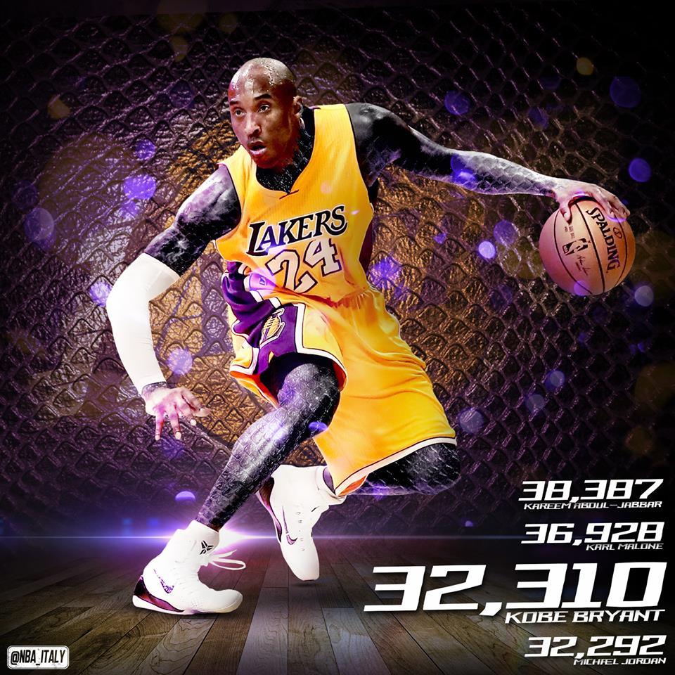 Kobe Bryant sempre più Leggenda!