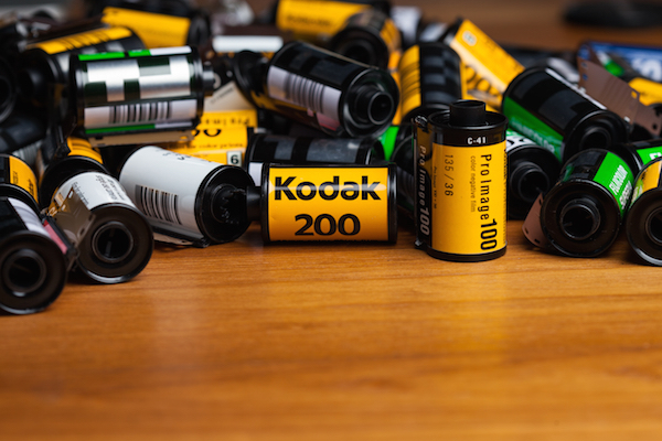 Vecchie pellicole Kodak
