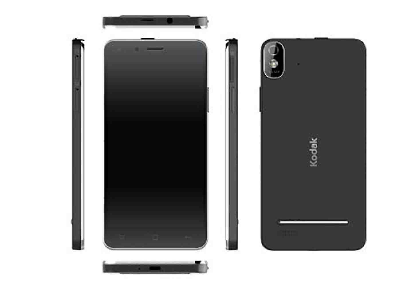 Al CES 2015 Kodak presenta IM5, il suo primo smartphone Android