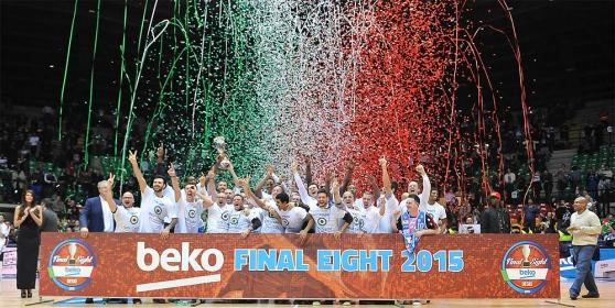 """La Dinamo Sassari centra il """"back to back"""" in Coppa Italia"""