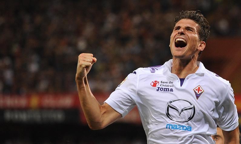 Mario Gomez, doppietta contro la Roma!