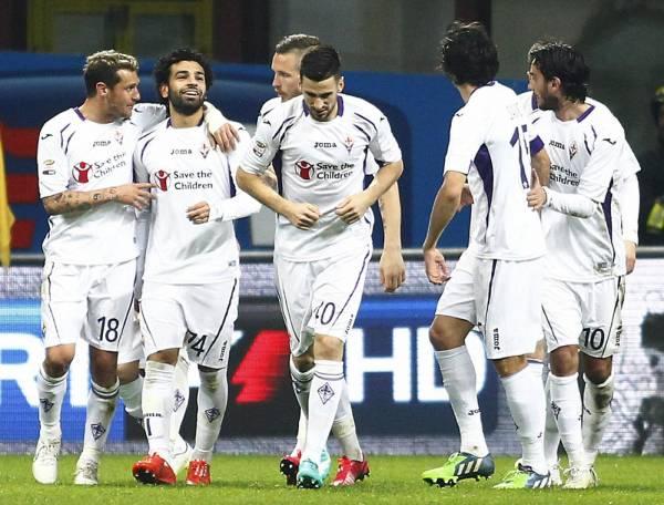 La Fiorentina sbanca San Siro con Salah!