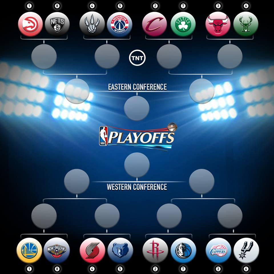 La griglia dei Playoff NBA 2015
